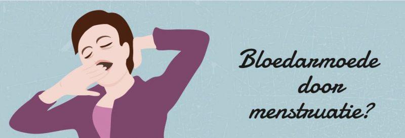 Bloedarmoede door hevig bloedverlies; kan dat?