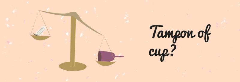 Menstruatiecup vs. tampon