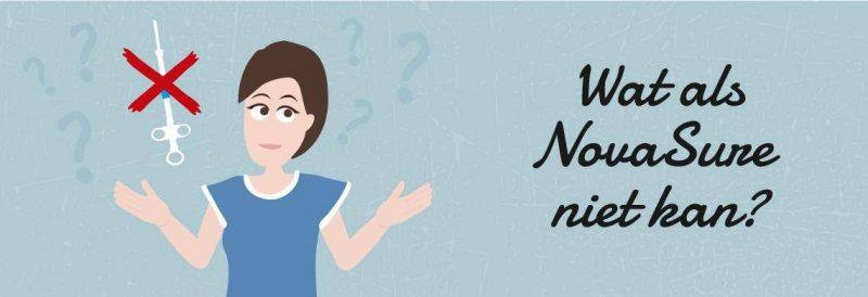 Wat als NovaSure niet uitgevoerd kan worden?